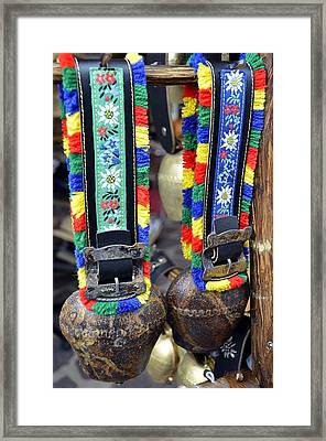 The Cow Bells From Tyrol Framed Print