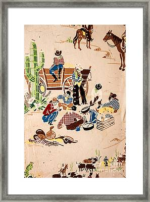 The Cowboy Way Framed Print by Sue Smith
