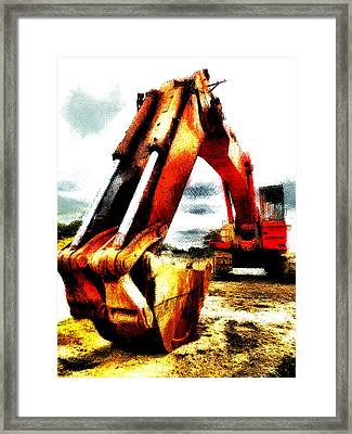 The Crab Claw Framed Print