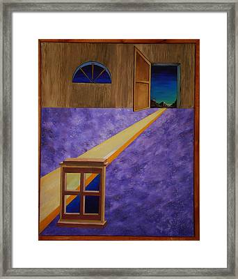 Framed Print featuring the painting The Crack Of Dawn by Stuart Engel