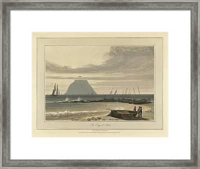 The Crag Of Ailsa Framed Print