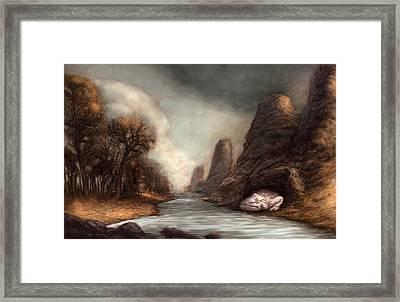 The Cravenwaller  Framed Print by Ethan Harris