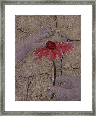 The Creation Of Eve Framed Print