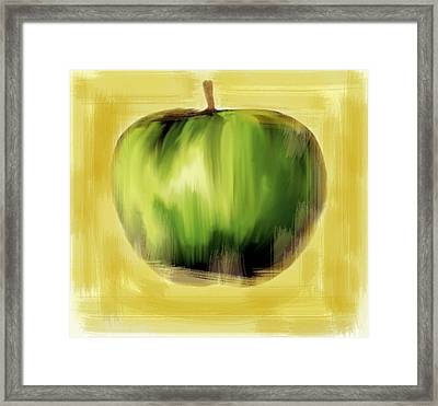 The Creative Apple Framed Print by Iconic Images Art Gallery David Pucciarelli
