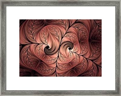 The Creative Mind Framed Print by Georgiana Romanovna