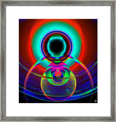The Creator And The Seeing Of Worlds Framed Print by David Lee Thompson