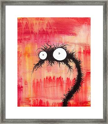 The Creatures From The Drain 1 Framed Print by Brandon Lynch