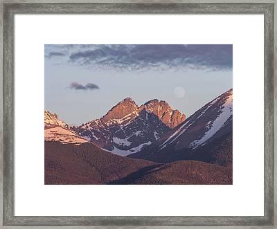 The Crestones 2 Framed Print