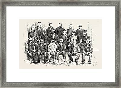 The Crew Of The Nisero, Release From Captivity By The Rajah Framed Print