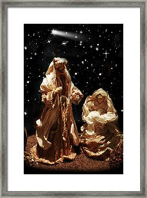 The Crib Framed Print by Gina Dsgn