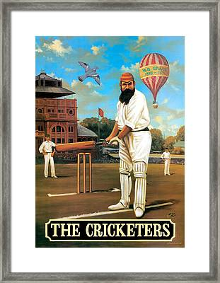 The Cricketers Framed Print