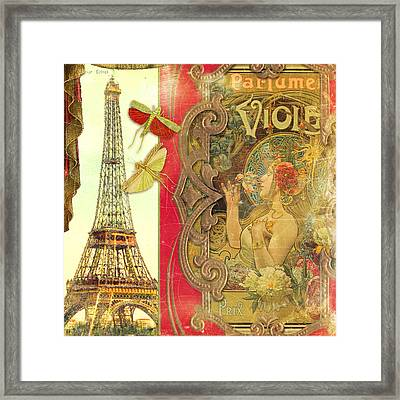 The Crickets Of Paris Framed Print by Aimee Stewart