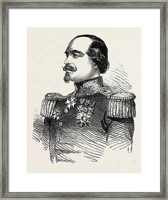 The Crimean War General Canrobert Commander-in-chief Framed Print by English School