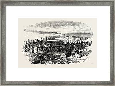 The Crimean War Siege Of Sebastopol Dr Framed Print by English School