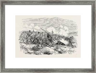 The Crimean War The Battle Of Inkerman Repulse Framed Print