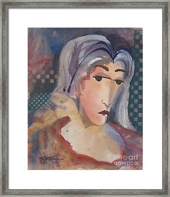 The Critic Framed Print by Micheal Jones