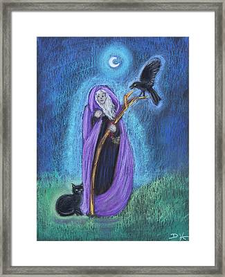 The Crone Framed Print