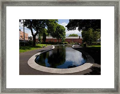 The Croppie Memorial Park, Near Collins Framed Print by Panoramic Images