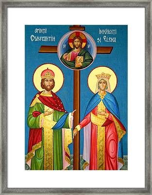 The Cross Icon Framed Print