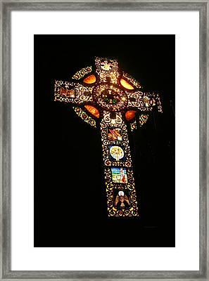 The Cross Framed Print