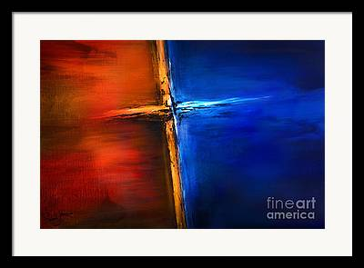 The Cross Framed Prints