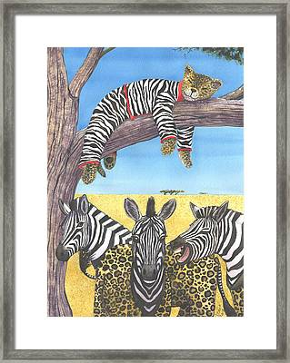 The Crossdressers Framed Print by Catherine G McElroy