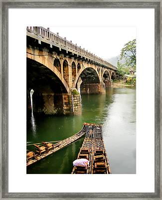 The Crossing Framed Print by James Wheeler