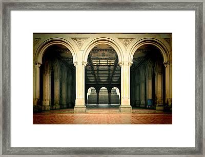 The Crossing Framed Print by Joanna Madloch