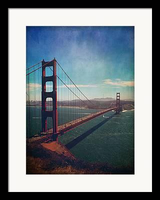 San Francisco Bay Digital Art Framed Prints
