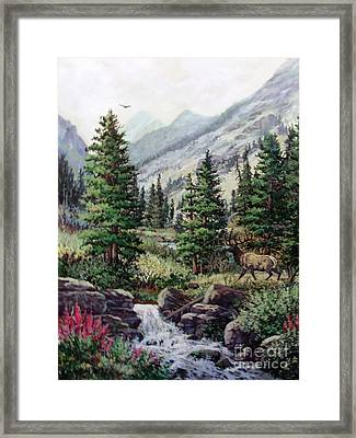 The Crossing Framed Print by W  Scott Fenton