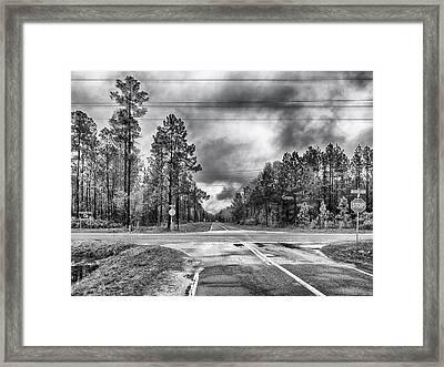 The Crossroads Framed Print