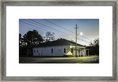 The Crossroads Framed Print