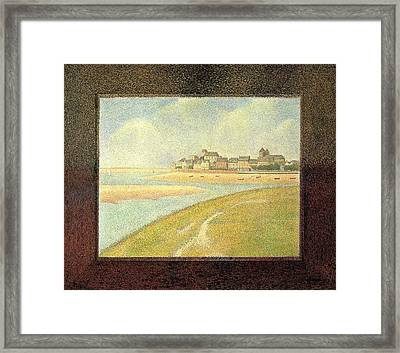 The Crotoy - Upstream Framed Print