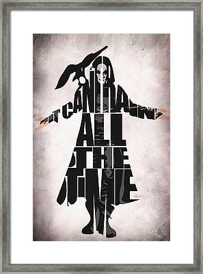 The Crow Framed Print by Ayse Deniz