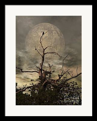 Scary Digital Art Framed Prints