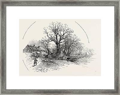 The Crow Trees, Barrow-on-trent Framed Print by English School