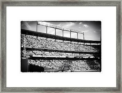 The Crowd Framed Print by John Rizzuto