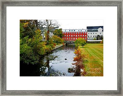 The Crown And Eagle Mill Framed Print by Jim  Calarese