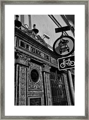 The Crown Bar Framed Print