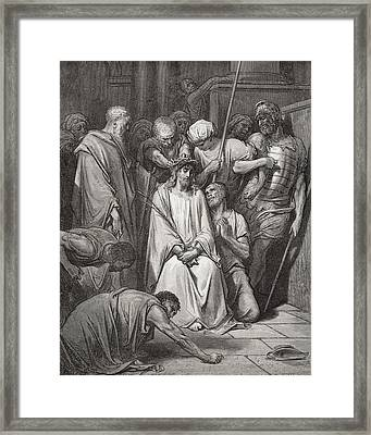 The Crown Of Thorns Framed Print