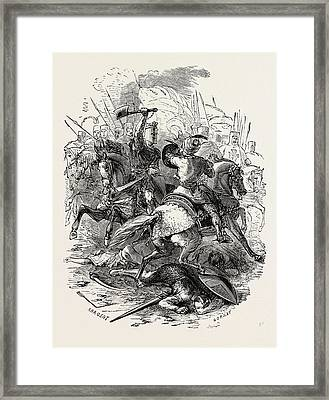 The Crusaders And Their Foes Framed Print