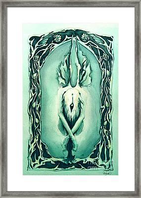The Crysalis Framed Print by Cari Buziak