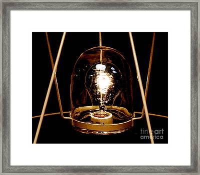 The Crystal Ball  Framed Print by Steven Digman