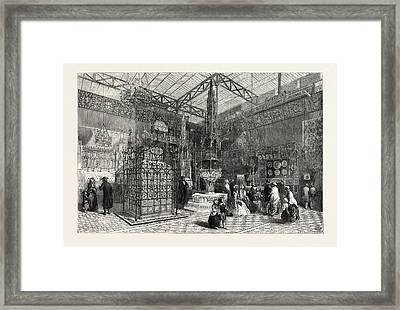 The Crystal Palace The Mediaeval Court, 1851 Framed Print
