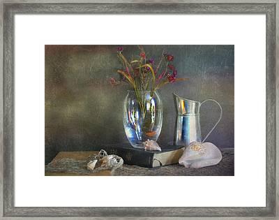 The Crystal Vase Framed Print
