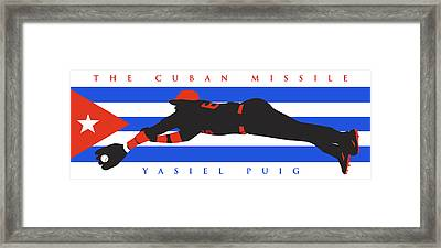 The Cuban Missile Framed Print by Ron Regalado