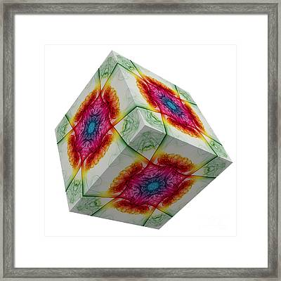 The Cube 3 Framed Print by Steve Purnell