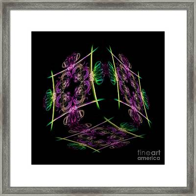 The Cube 7 Framed Print by Steve Purnell