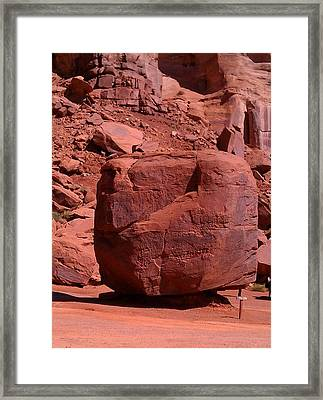 Framed Print featuring the photograph The Cube by Fortunate Findings Shirley Dickerson