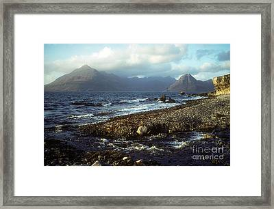 The Cuillins From Elgol - Isle Of Skye Framed Print